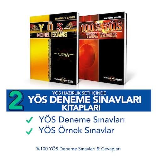 YÖS Kitapları - Deneme Sınavları