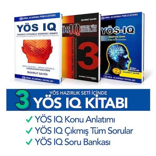 YÖS Kitapları - IQ Kitapları
