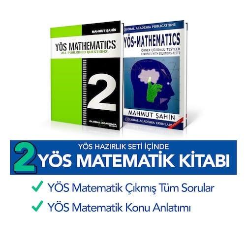 YÖS Kitapları - Matematik Kitapları