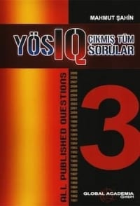 YÖS IQ Çıkmış Sorular - YÖS Kitapları