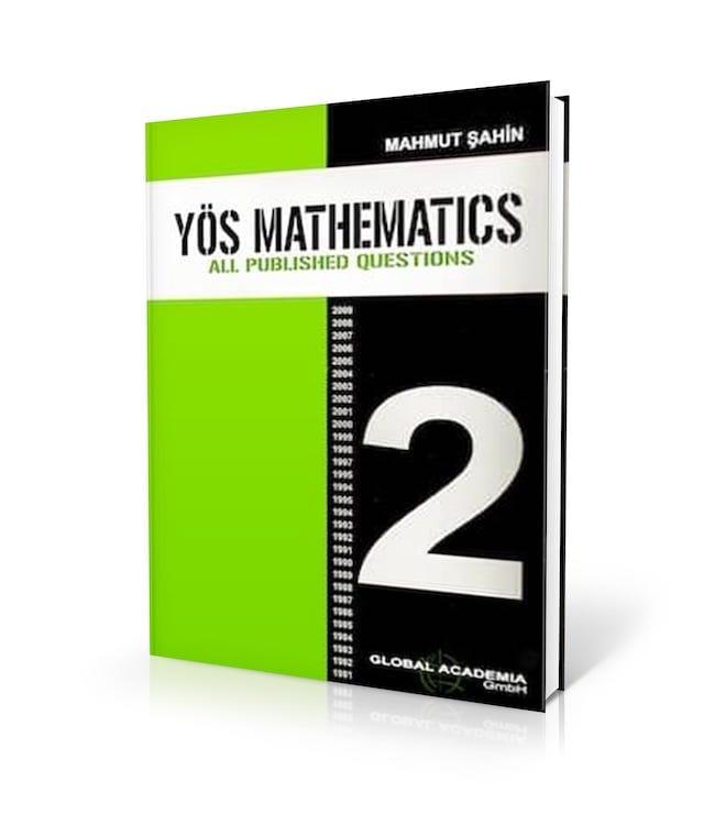 YÖS Kitapları Matematik Çıkmış Sorular