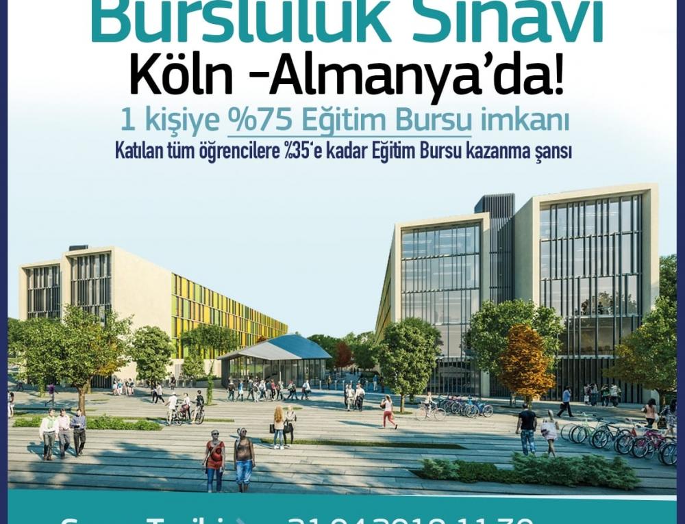 İstanbul Şehir Üniversitesi Bursluluk Sınavı Köln – Almanya