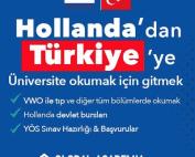 Hollanda'dan Türkiye'ye üniversite okumak
