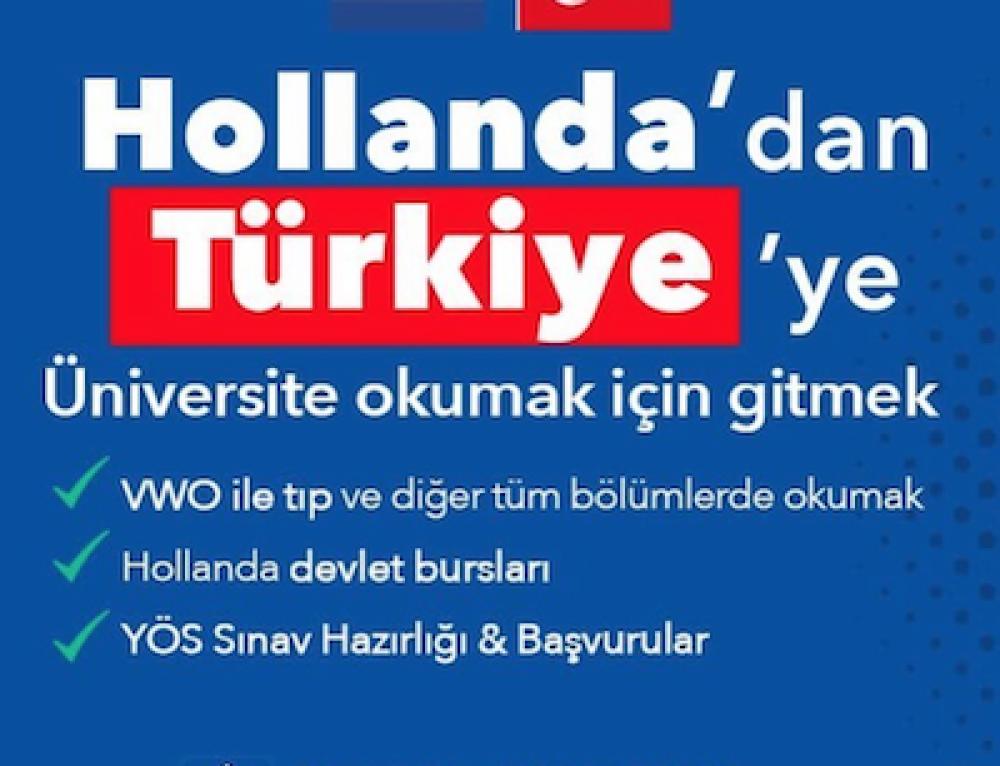 Hollanda'dan Türkiye'ye üniversite okumak | YÖS Hollanda