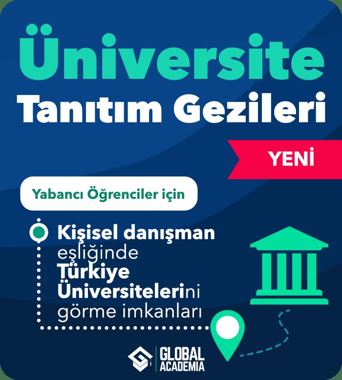 Yabancı Öğrenci Üniversite Tanıtım Gezileri