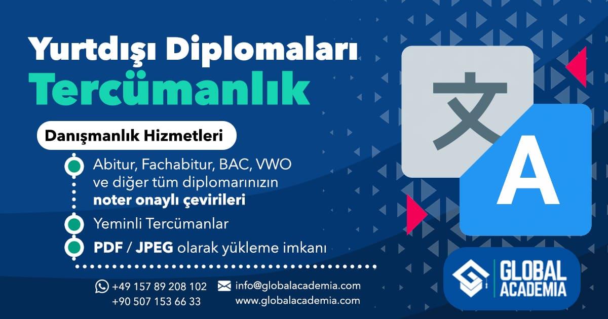 Yabancı Diploma Tercüme