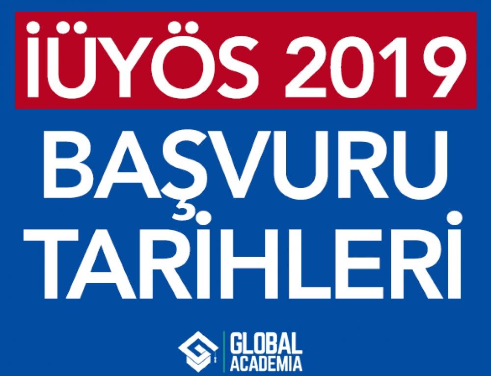 İÜYÖS 2019 – İstanbul Üniversitesi 2019 Başvuru Tarihleri