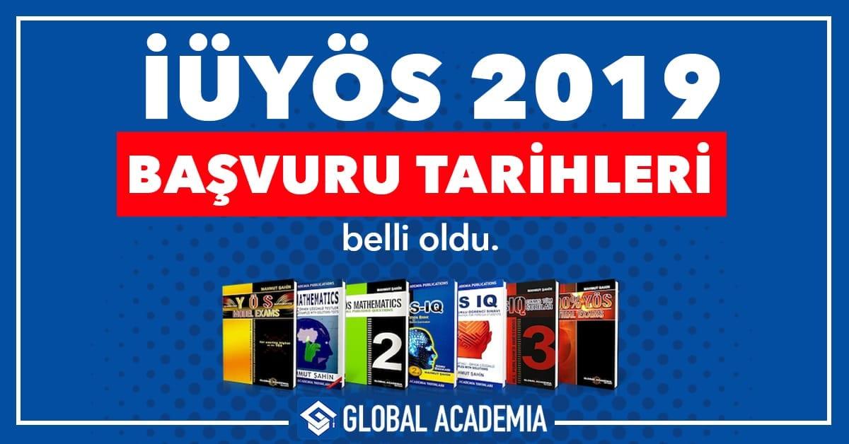 iüyös 2019 - istanbul üniversitesi yös 2019 sınav tarihleri başvuru