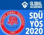 SDÜ - Süleyman Demirel YÖS 2020