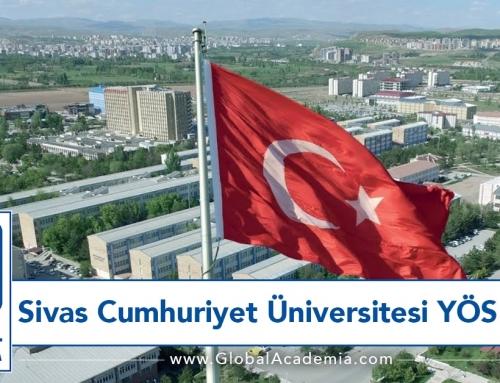 Sivas Cumhuriyet Üniversitesi YÖS 2020 – SCÜYÖS 2020