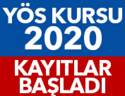 YÖS KURSU 2020 KAYITLARI BAŞLADI!
