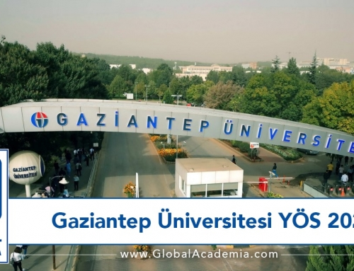 Gaziantep Üniversitesi YÖS 2020 – GAÜNYÖS 2020