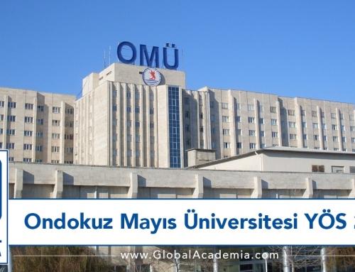 Ondokuz Mayıs Üniversitesi YÖS 2020 Sınavı – ÖMÜ YÖS 2020