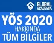 yös 2020 sınavları