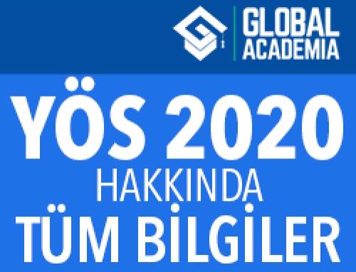 YÖS 2020 Başvuru – Tarihler – Kontenjanlar (Tüm Bilgiler!)